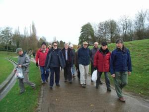 Xplain walk in Campbell Park, with impromptu litter-pick!