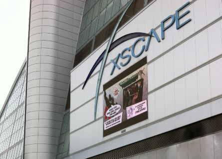 Xscape original signage capture
